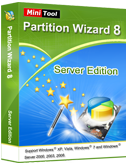 server partition resize server edition