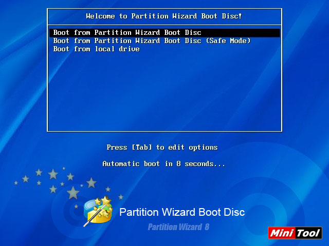 Parted magic – bootable usb/cd-dvd with disk utilities.