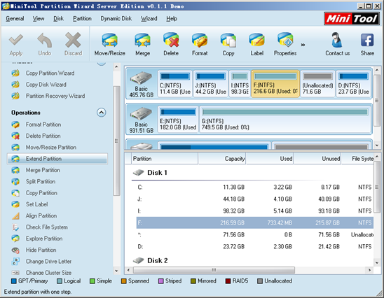 enlarge-partition-software-main-interface